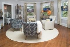 interior round rug