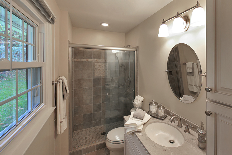 Small Master Bath Interior Transformations Residential Interior Classy Small Master Bathroom