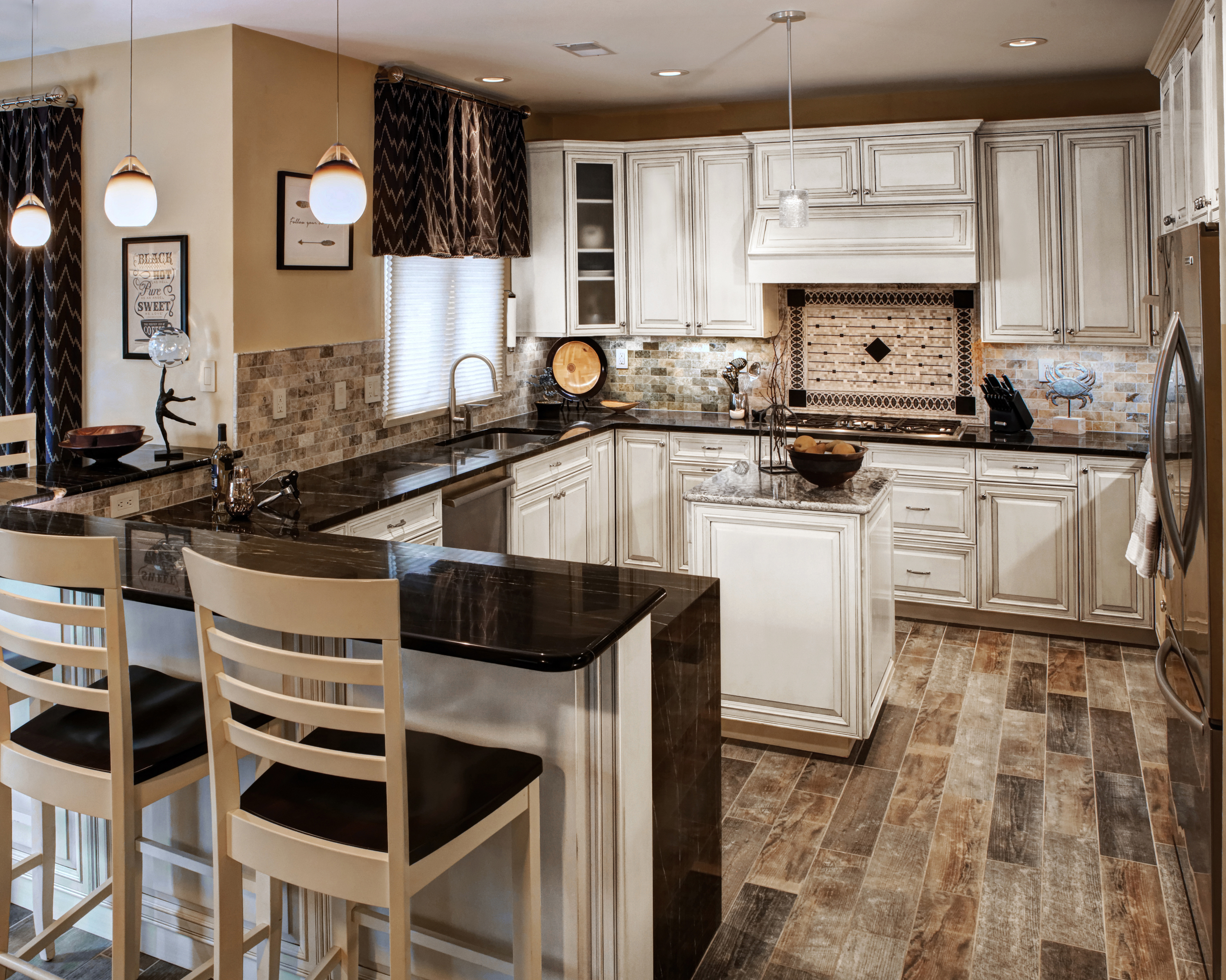 Carroll County Kitchen and Family Room | Interior ...