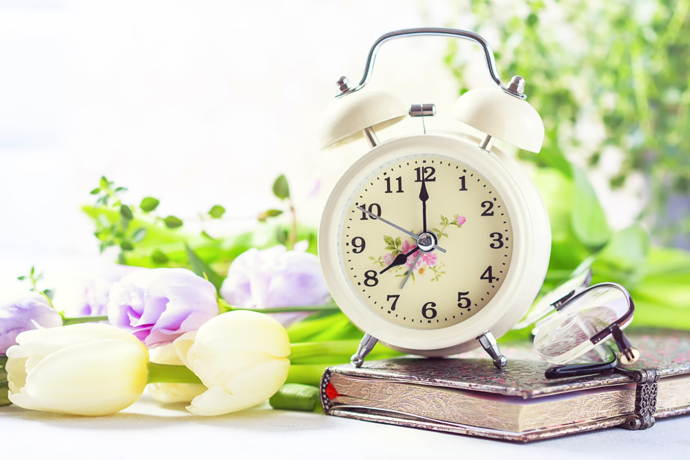 Welcome to Daylight Saving Time!